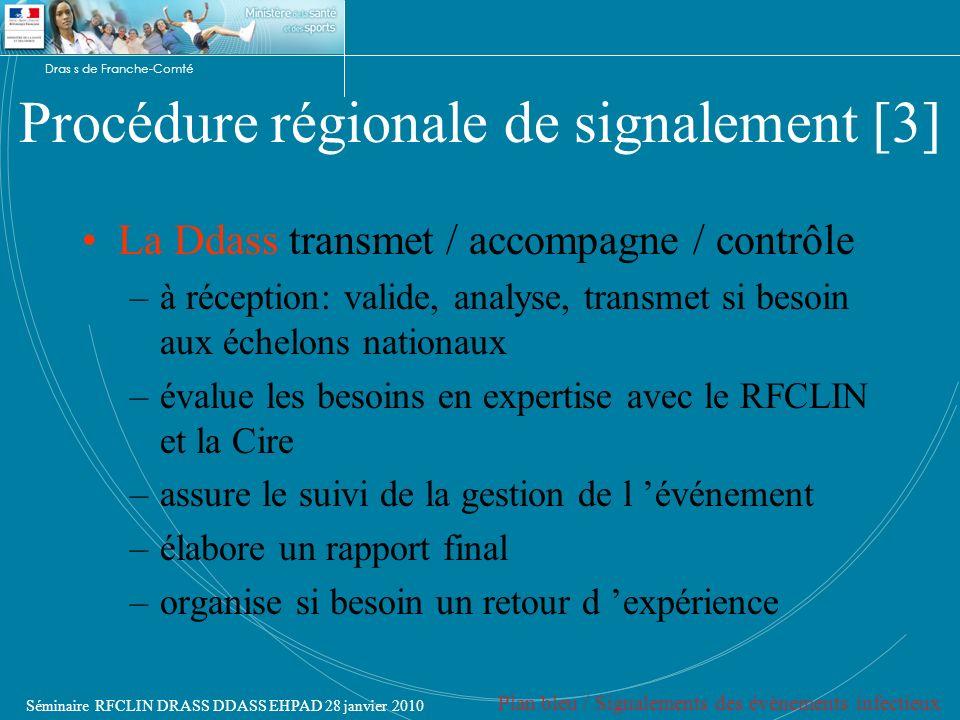 Procédure régionale de signalement [3]